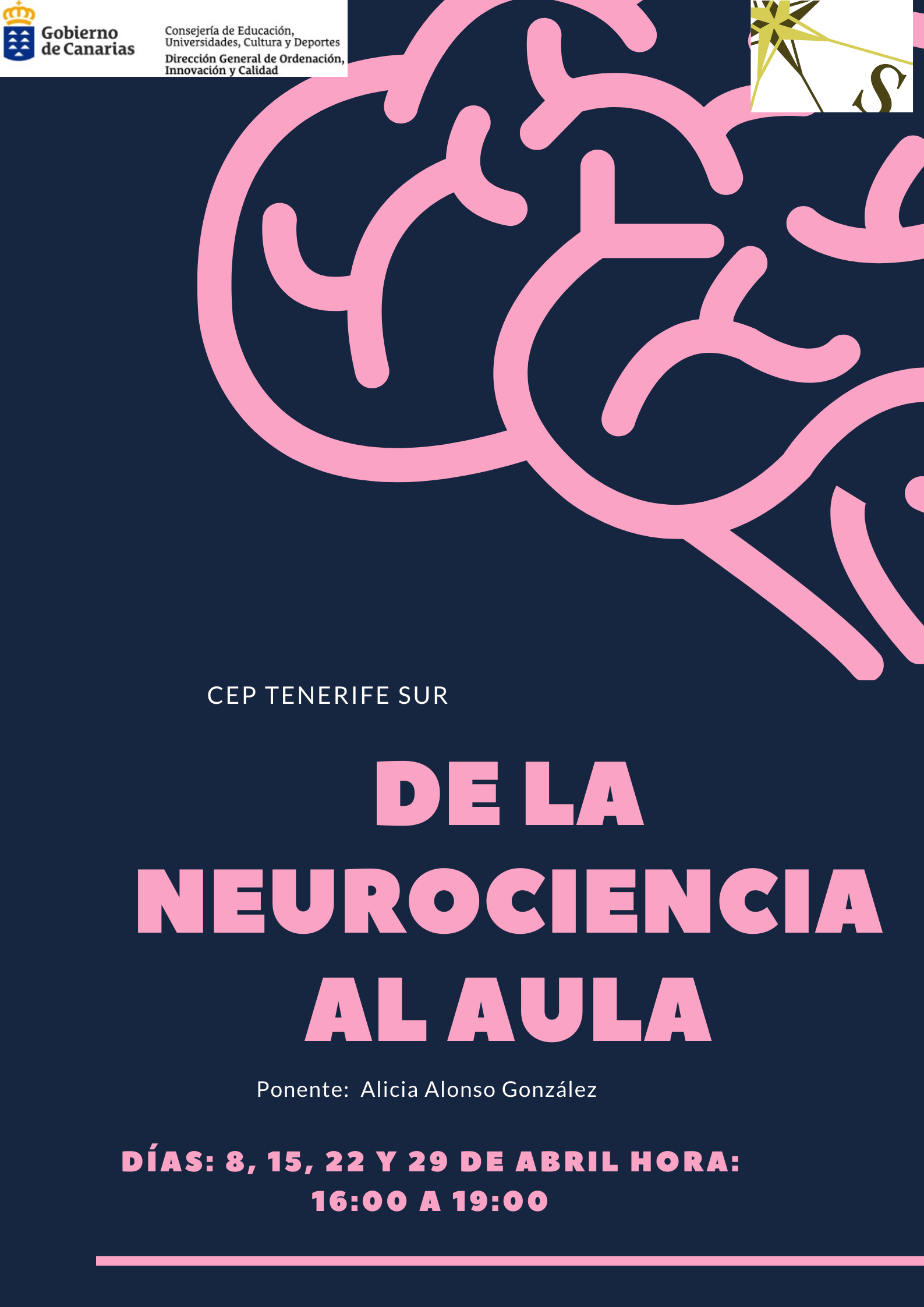 CURSO: DE LA NEUROCIENCIA AL AULA