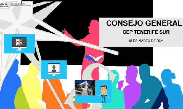 Consejo General del 18 de marzo de 2021