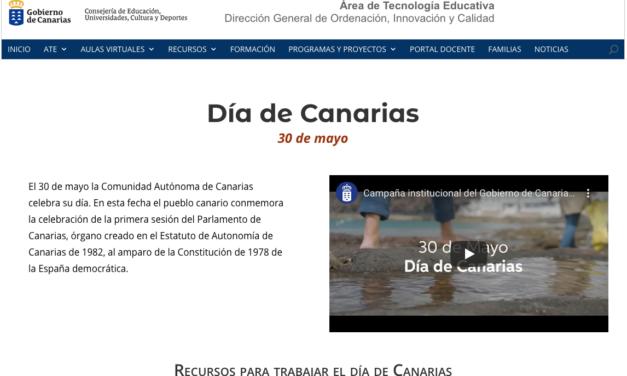 Web Día de Canarias