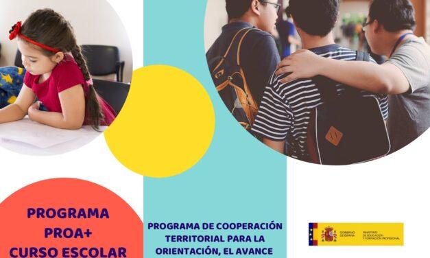 PROGRAMA PROA+ CURSO ESCOLAR 2021-2022.