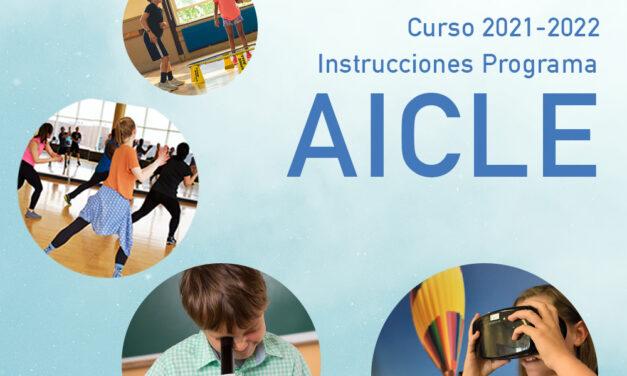 Instrucciones del Programa AICLE y centros autorizados, curso 2021-2022