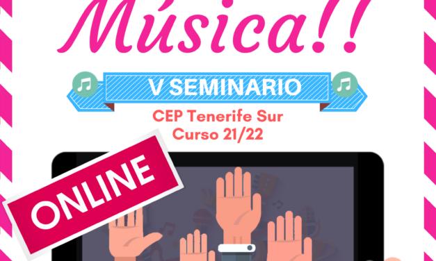 SEMINARIO DE TRABAJO: ¡¡SOMOS DE MÚSICA!!
