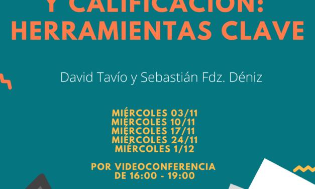 CURSO: EVALUACIÓN Y CALIFICACIÓN: HERRAMIENTAS CLAVE