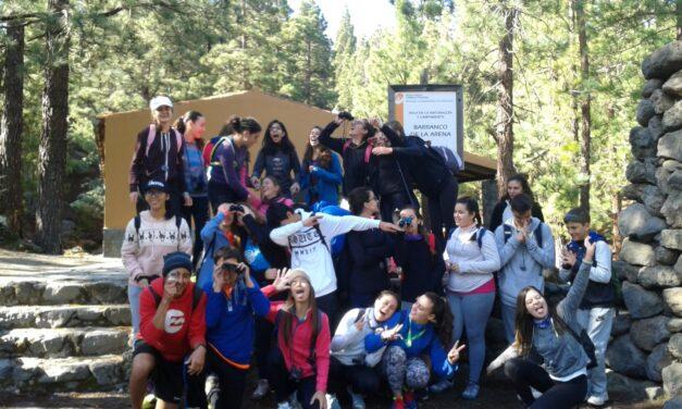 Actividad REDECOS: Aula de la Naturaleza – Barranco de la Arena