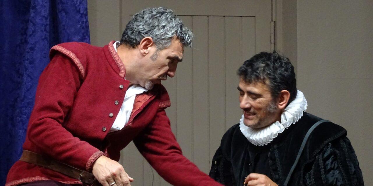 Morfema Teatro representa «Cervantes, la biografía farsa»