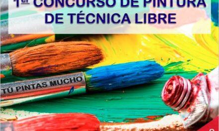 Primer concurso de pintura de técnica libre