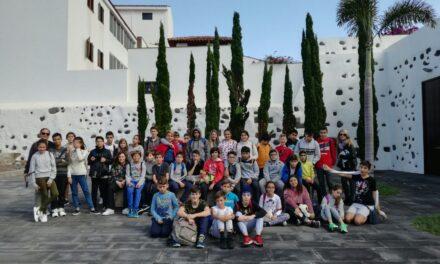 Visita al espacio cultural de la fundación CajaCanarias de Garachico