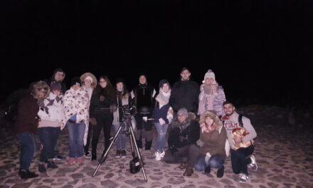Observación de estrellas en el Parque Nacional del Teide