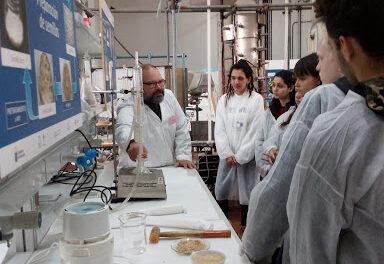 Visita a la facultad de química de la ULL