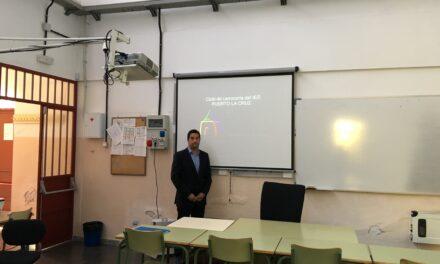 Visita del IES Tacoronte – Óscar Domínguez