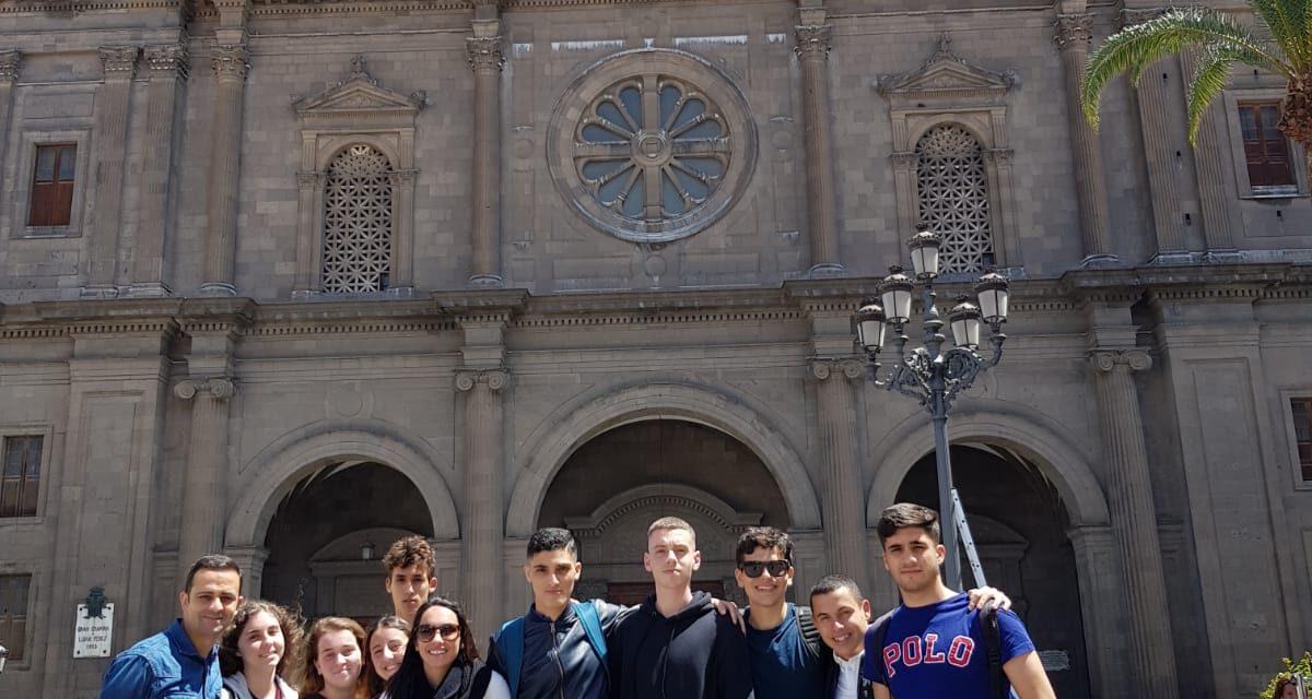 Visita a Gran Canaria del alumnado de 2º de Bachillerato
