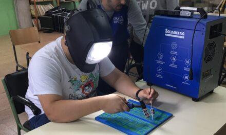 Nuevo equipo de realidad aumentada para la simulación de soldadura