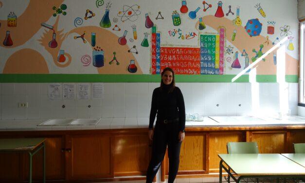 Nueva alumna del máster del profesorado