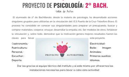 Proyecto Autoestima 2018/2019