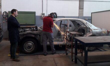 Actividad visita a los talleres de carrocería