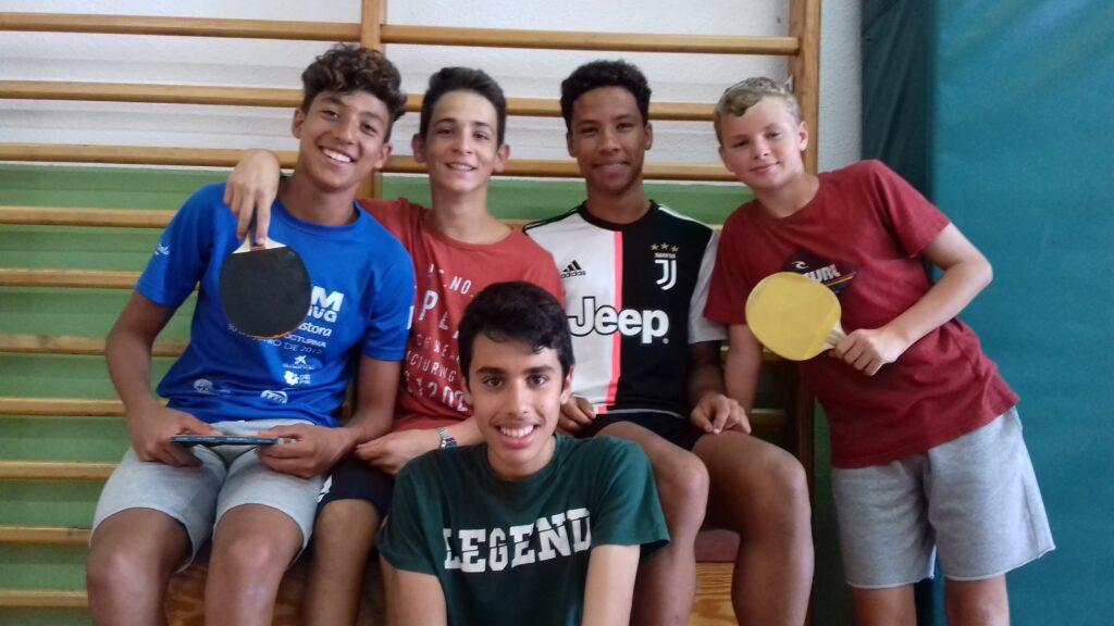 Taller de tenis de mesa
