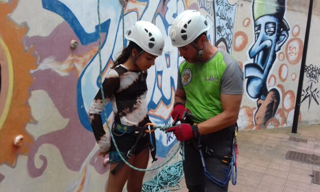 Taller de iniciación a la escalada deportiva