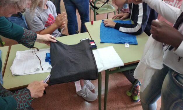 Taller de camisetas recicladas