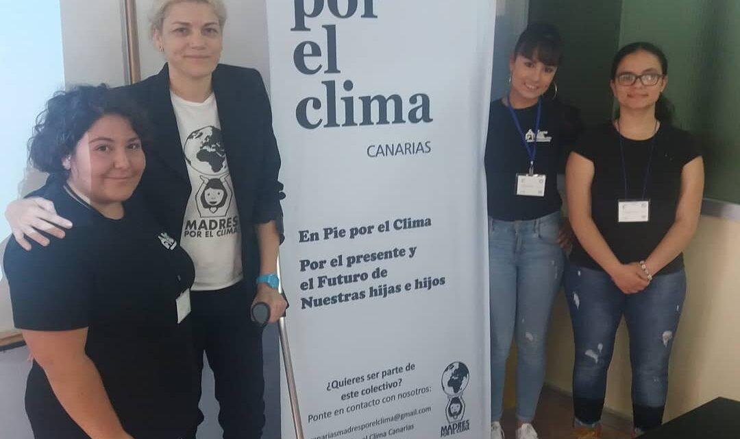 Visita de la Asociación Madres por el Clima
