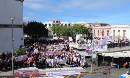 El norte de Tenerife por la igualdad y contra la violencia