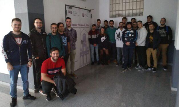Alumnado de 2ASIR visita el CPD del STIC