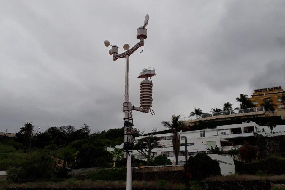 Instalación de estación meteorológica