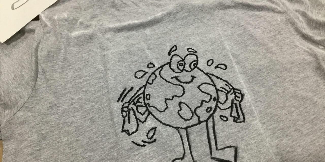 Taller de camisetas por el clima