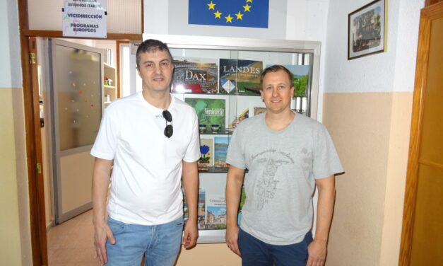 Visita de profesores suecos en el marco Erasmus+