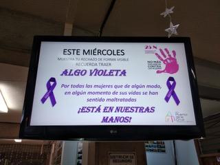 Actividades del 25N: Día Internacional de la Eliminación de la Violencia contra la Mujer