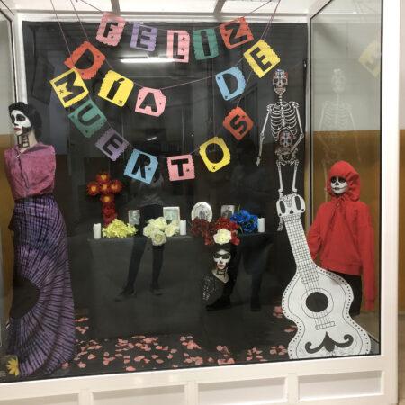 Foto escaparate Día de muertos