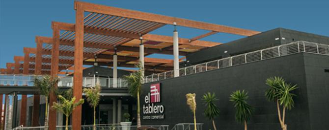 El centro Comercial - El Tablero I - Gran Canaria