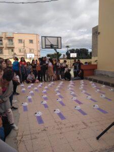 IES Tablero I - Día Internacional en contra de la Violencia de Género - Gran Canaria