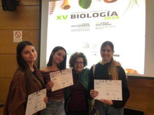 olimpiadas biología y geología IES Tablero I