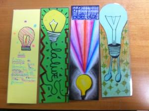 Marcadores Presentados Año Internacional de la Luz.