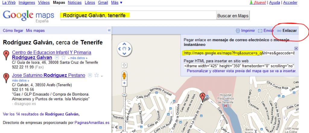 google-maps-ceip-rodriguez-galvan