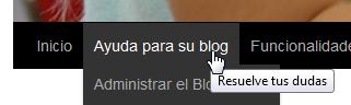 pantalla menu
