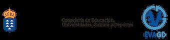 Logotipo de Entorno Virtual de Aprendizaje de Gestión Distribuida de Canarias