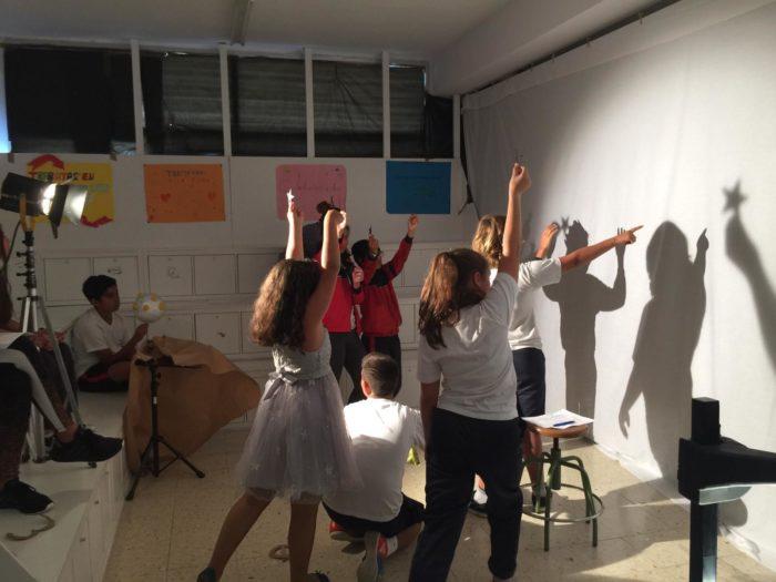 Alumnado teatro sombras