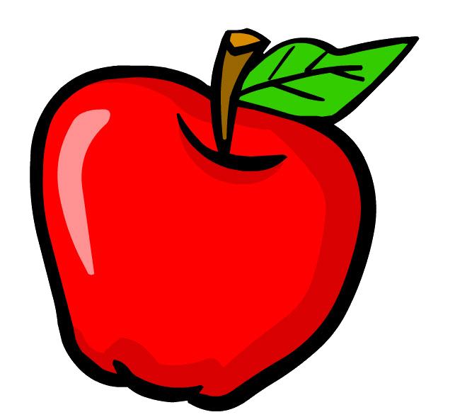 Fotomural cartoon manzana portador tropical • PIXERS.es