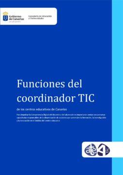Funciones del Coordinador TIC de los centros educativos de Canarias
