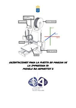 Puesta en marcha de la impresora Bq Hesphestos 2