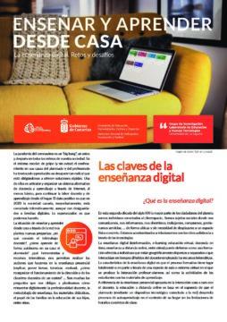 Enseñar y aprender desde casa: La enseñanza digital. Retos y desafíos