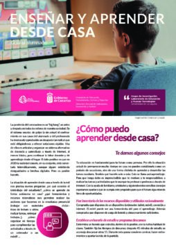 Enseñar y aprender desde casa: Guía al alumnado