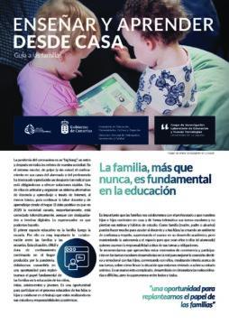 Enseñar y aprender desde casa: Guía a las familias