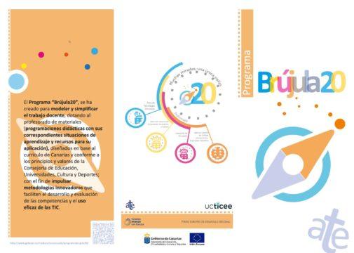 Folleto del programa Brújula20