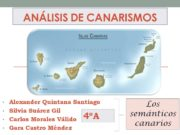 CANARISMOS