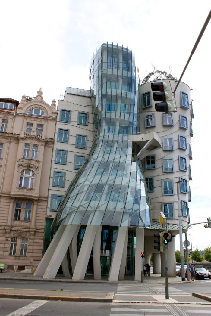La Casa Danzante de Praga