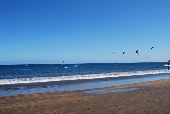 Windsurf y cometas