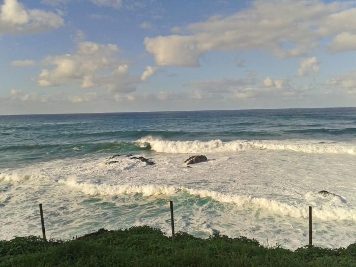 Paisaje costero