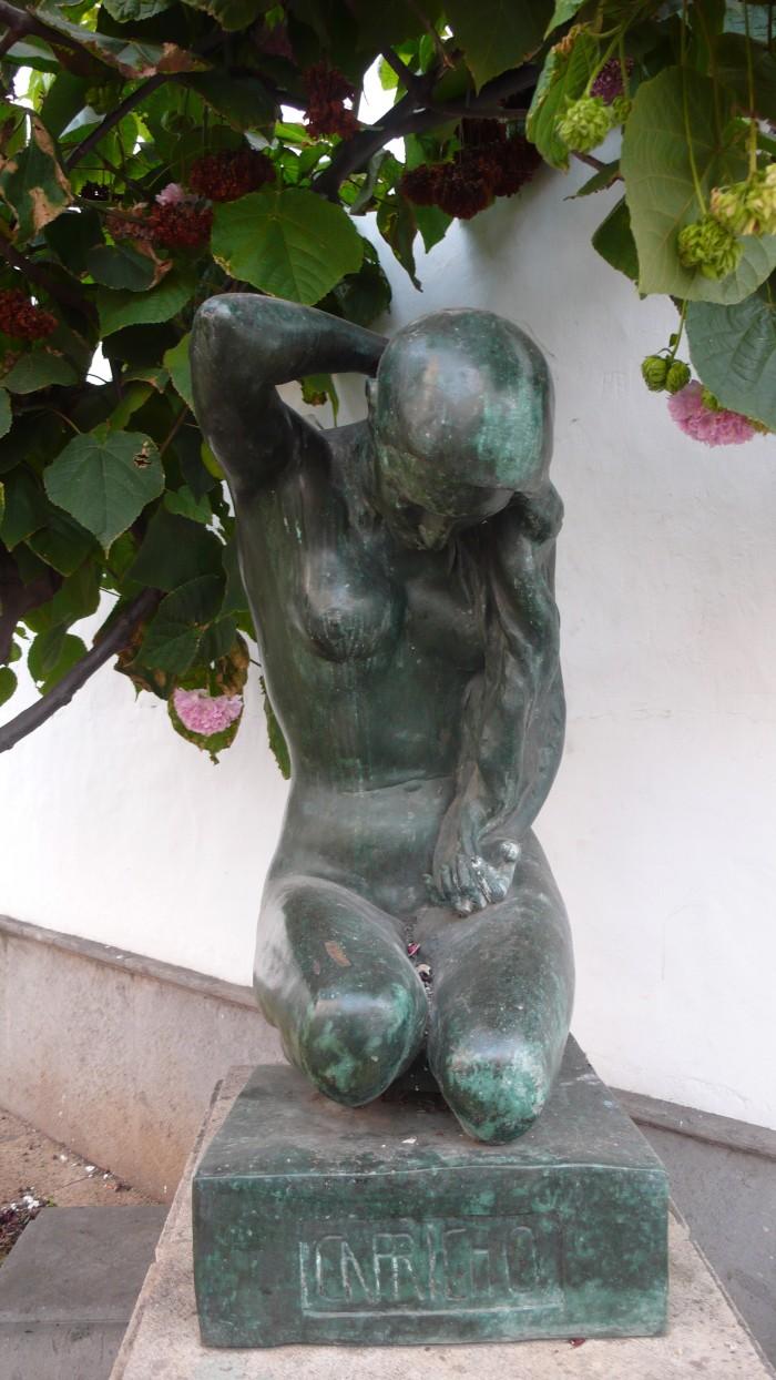 Escultura de Manolo Ramos